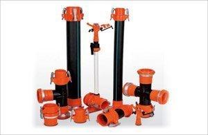 PVC-PE Yağmurlama Boruları ve Ek Parçaları